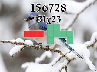 Puzzle polyominoes №156728