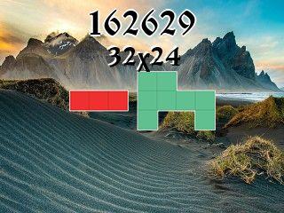 Puzzle polyominoes №162629