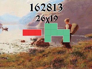 Puzzle polyominoes №162813