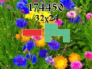 Puzzle polyominoes №174450