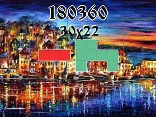 Puzzle polyominoes №180360