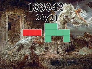 Puzzle polyominoes №183042