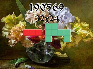 Puzzle polyominoes №190569