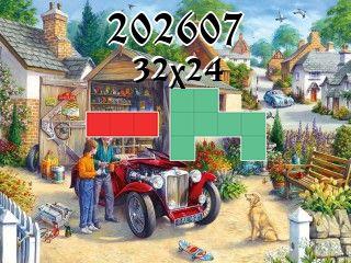 Puzzle polyominoes №202607