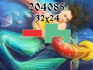 Puzzle polyominoes №204085