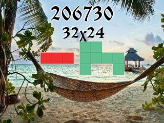 Puzzle polyominoes №206730