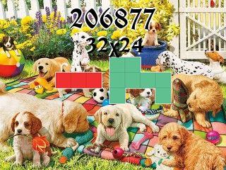 Puzzle polyominoes №206877