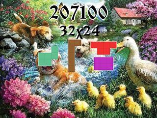 Puzzle polyominoes №207100