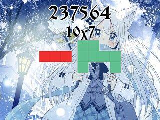 Puzzle polyominoes №237564