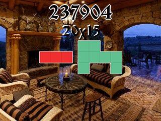 Puzzle polyominoes №237904