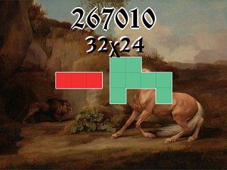 Puzzle polyominoes №267010