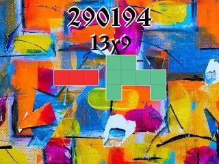 Puzzle polyominoes №290194
