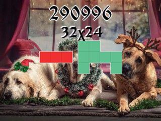 Puzzle polyominoes №290996