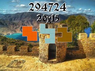 Puzzle polyominoes №294724