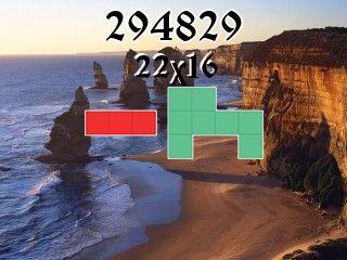 Puzzle polyominoes №294829