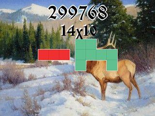 Puzzle polyominoes №299768