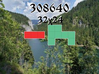 Puzzle polyominoes №308640