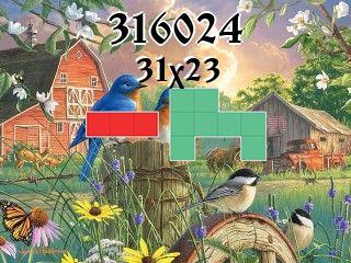 Puzzle polyominoes №316024