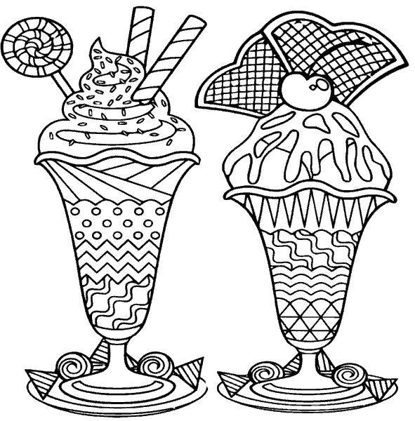 Coloring Page «Ice cream for Tony». №168016