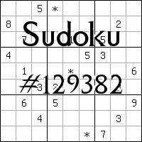 Sudoku №129382