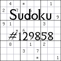 Sudoku №129858