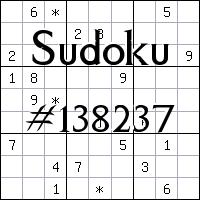 Sudoku №138237