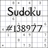 Sudoku №138977
