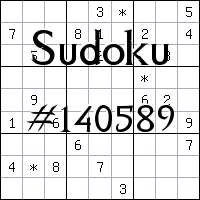 Sudoku №140589