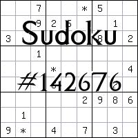 Sudoku №142676