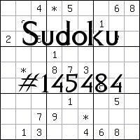 Sudoku №145484
