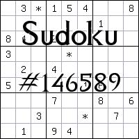 Sudoku №146589