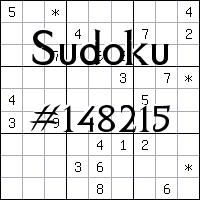 Sudoku №148215