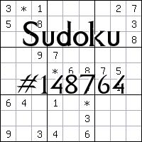 Sudoku №148764