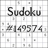 Sudoku №149574