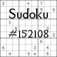 Sudoku №152108