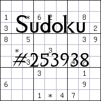 Sudoku №253938