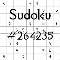 Sudoku №264235