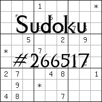 Sudoku №266517