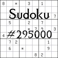 Sudoku №295000