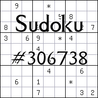 Sudoku №306738