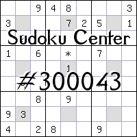 Sudoku Center №300043