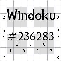 Windoku №236283