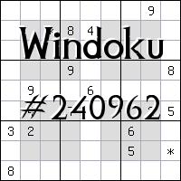 Windoku №240962