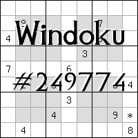 Windoku №249774