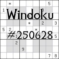 Windoku №250628