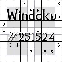 Windoku №251524