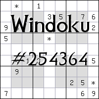 Windoku №254364