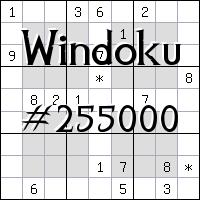 Windoku №255000