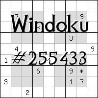 Windoku №255433