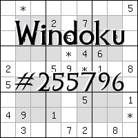 Windoku №255796